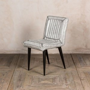 Marie Faux Leather Dining Chairs - White