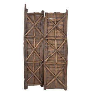 Antique Indian Saloon Doors