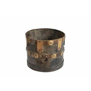Brass & Iron Planter/Pot