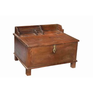 Colonial Teak Writing Desk