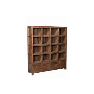 Teak Storage Rack/Shelves