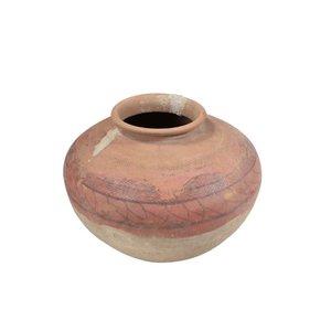 Earthenware Clay Pot (Slight Pattern)