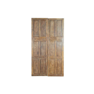 Set Of Old Indian Pine Doors