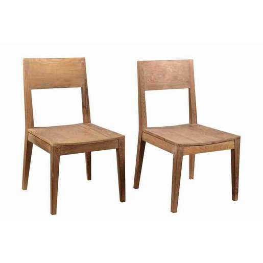 India - Old Furniture Reclaimed Teak Dining Chair