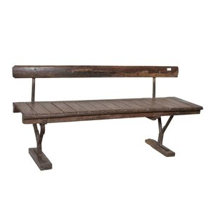 Old Indian Railway Bench