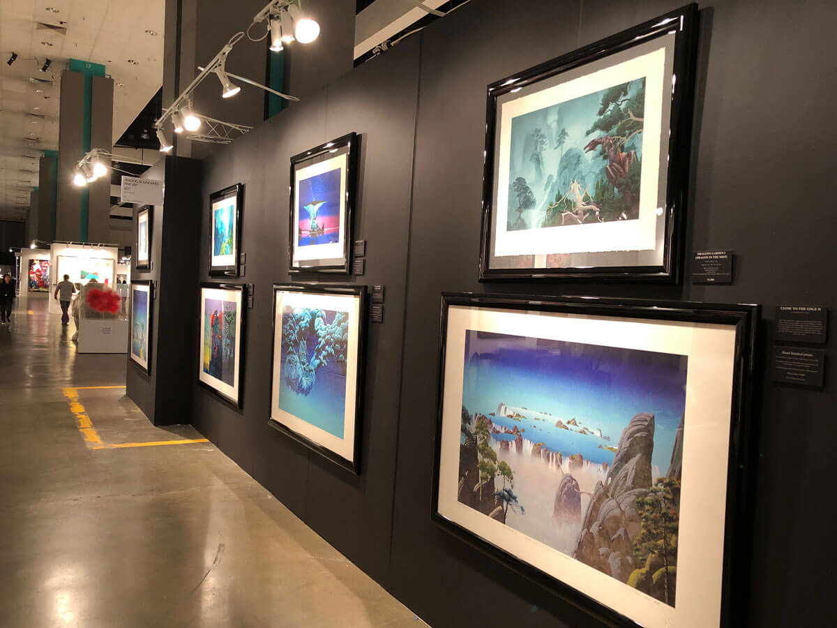 roger dean exhibition los angeles