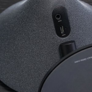 Mini Halo One Bluetooth Speaker - Black