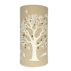 Tree of Life Fabric Lamp