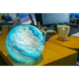 Olivia Cloudy Copper (Small Sphere)