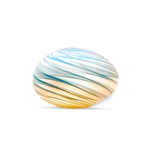 Blue And Grey Lamp (Egg)