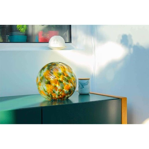 Level 2 Accessories Abstract Canvas Small Lamp