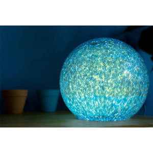 Stellar Blue Small Lamp