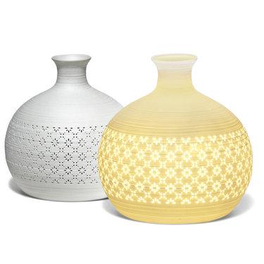 Level 1 Accessories Round Jar Vase Lamp