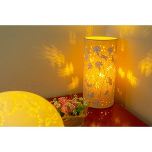 Butterflies & Dragonflies Fabric Lamp