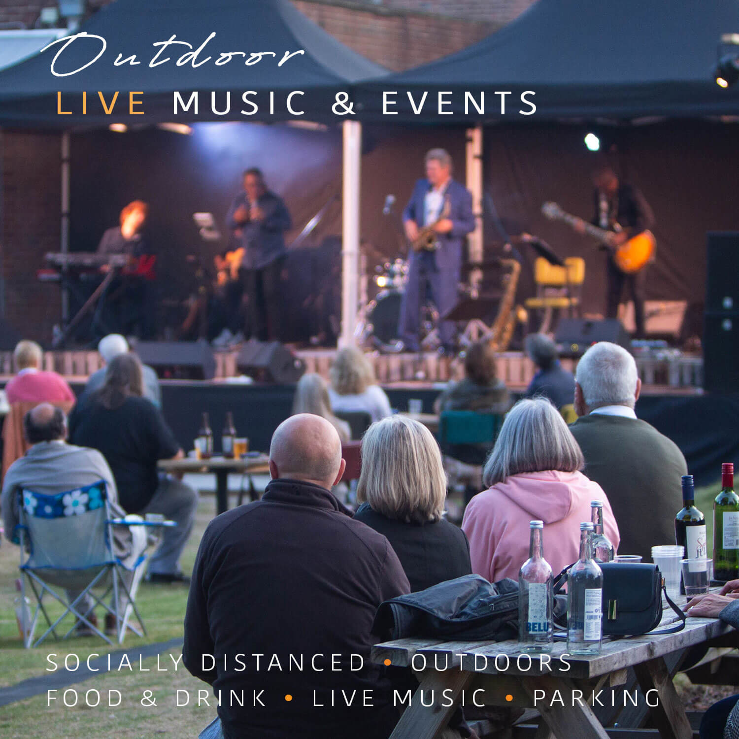safe outdoor live music sussex