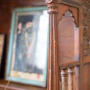 Old teak shrine