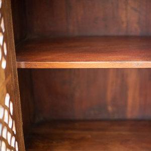 Teak Cabinet with Jali Door