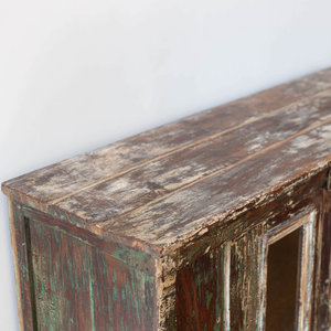 Vintage Green Sideboard