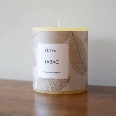 Level 2 Accessories Eden Pillar Candle - Tabac
