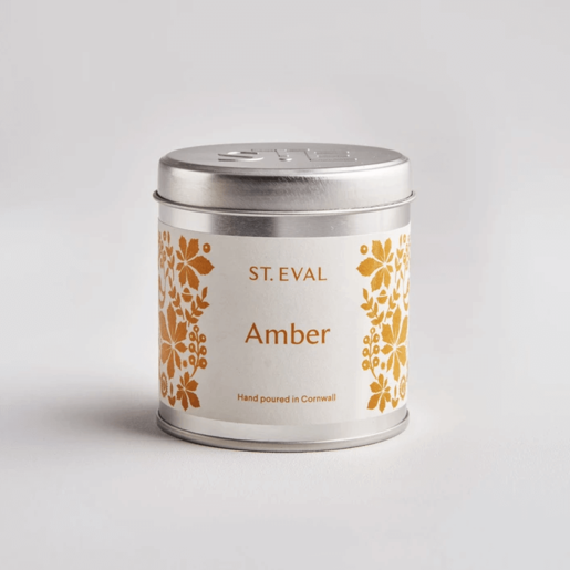 Level 2 Accessories Folk Amber Scented Tin