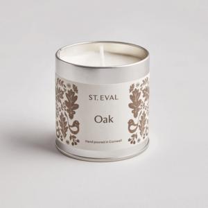 Folk Oak Scented Tin