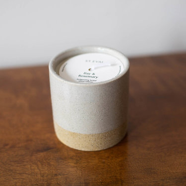 Level 2 Accessories Earth & Sky Candle Pot  - Bay & Rosemary