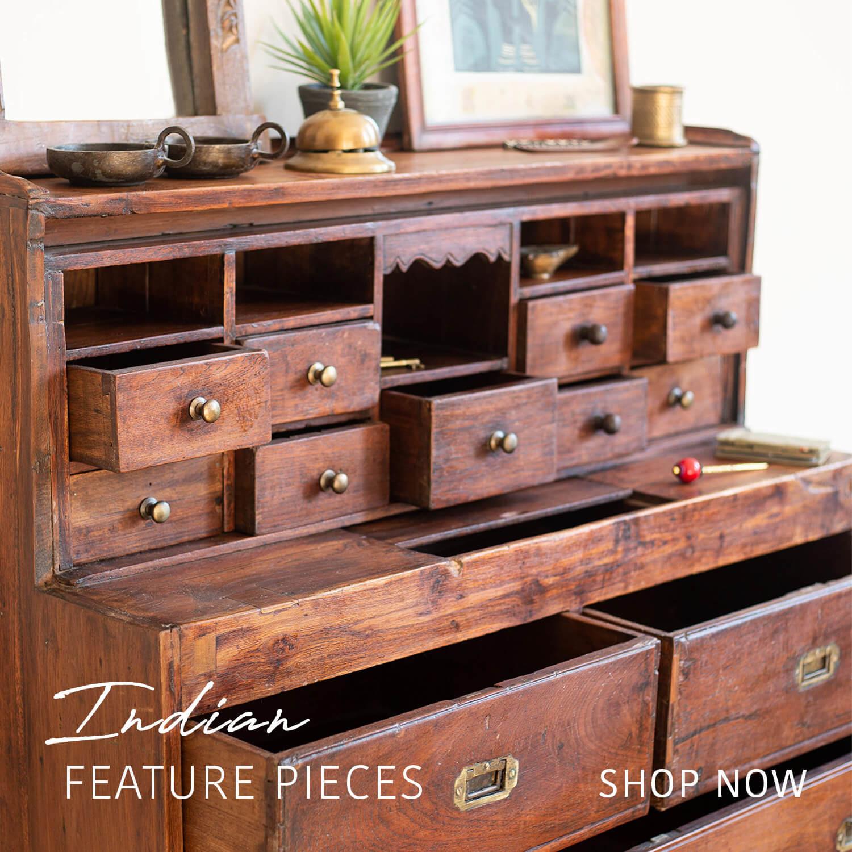 vintage indian furniture