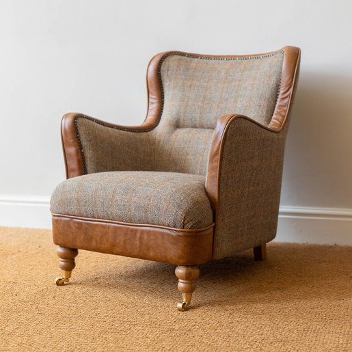 Furniture - UK & Euro Ellis Armchair - Hunting Lodge