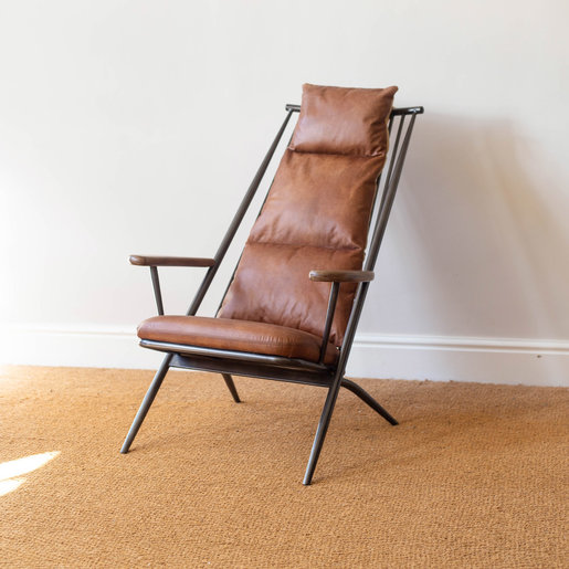 Furniture - UK & Euro Ely Leather Studio Chair