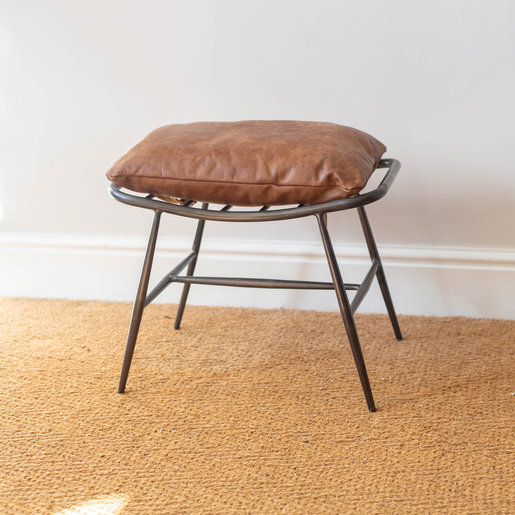 Furniture - UK & Euro Ely Studio Footstool