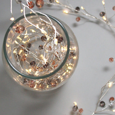 Level 2 Accessories Coco Cluster Light String