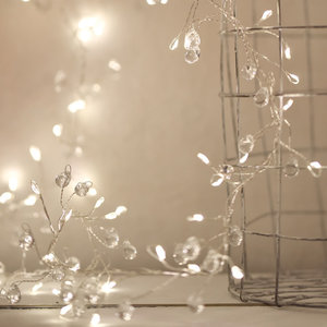 Crystal Cluster Light String