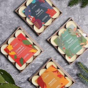 Orange & Cinnamon Christmas Tealights