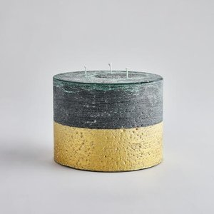 Winter Thyme Gold Multiwick Candle