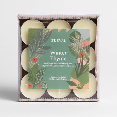 Level 2 Accessories Winter Thyme Christmas Tealights
