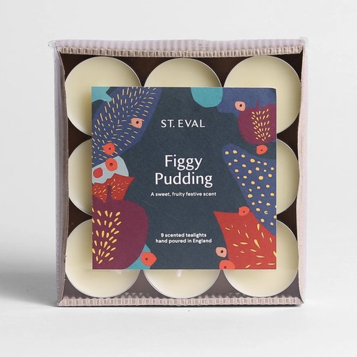 Level 2 Accessories Figgy Pudding Christmas Tealights
