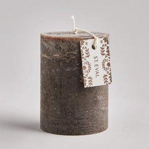Oak Folk Pillar Candle