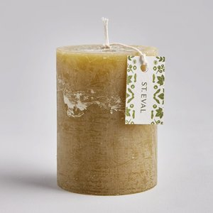 Moss Folk Pillar Candle