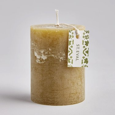 Level 2 Accessories Moss Folk Pillar Candle