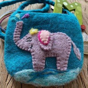 Elephant Mini Shoulder Bag