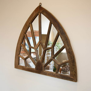 Arched Jali Mirror