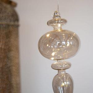 Smokey Glass LED Calabash