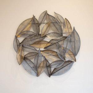 Gold & Silver Leaf Art