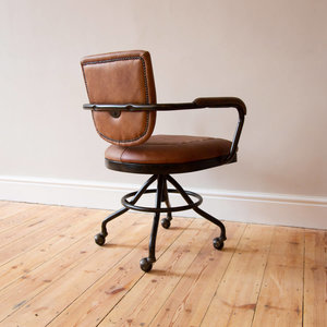 Mustang Leather Office Chair