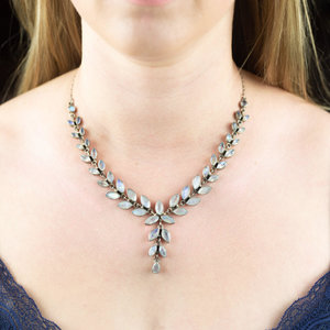 Silver & Moonstone Necklace