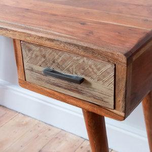 Zen Acacia Writing Desk