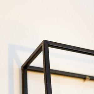 Black & Gold Minimal Clock