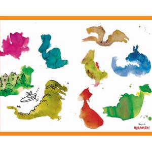 Hirameki: 36 Placemats - Doodling Fun!