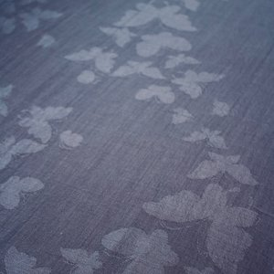 Slate Blue Butterfly Shawl