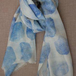 Pure Cashmere Pashmina - Water Blue